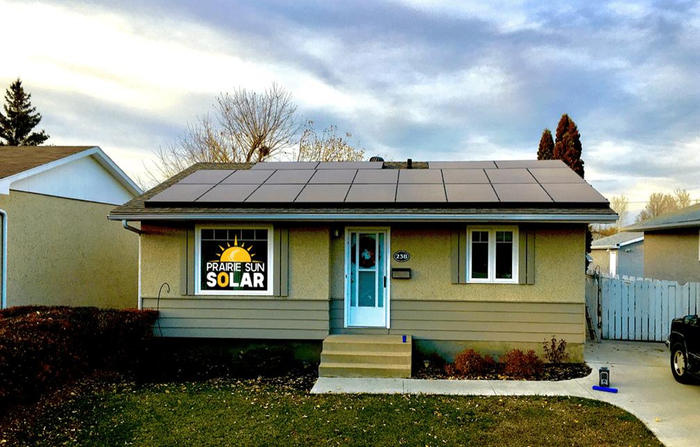 Yc600 Residential Array Saskatchewan Apsystems Canada